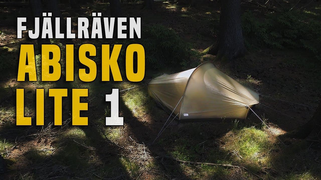 896b359d3e4220 Fjällräven Abisko Lite 1P Zelt - Testbericht Gear Review - YouTube