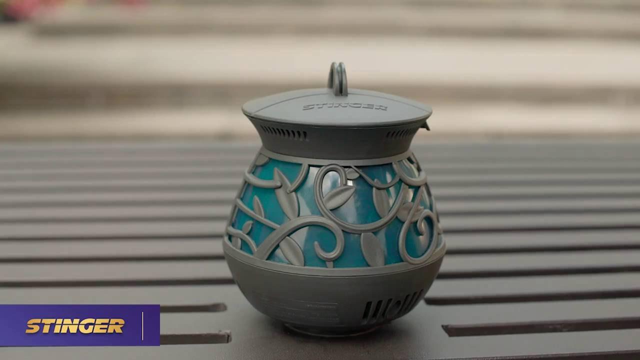 stinger mosquito repellent lantern youtube