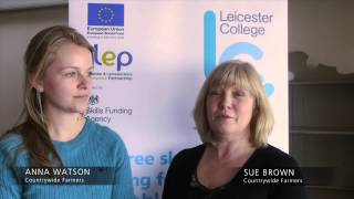 ESF Workshop with Leicester College