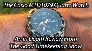 Casio Diver-style Watch MTD1079 In Depth Review