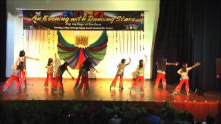 Children Bollywood Dance in Singapore - Chammak Challo