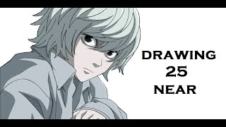 drawing #25 near (death note) (desenho simples)