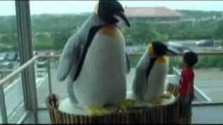 大きなぬいぐるみは、子供たちに喜ばれやすいようです。http://www.aqua...
