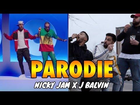 Nicky Jam x J. Balvin - X  (PARODIE - VERGISS DEINEN FREUND)