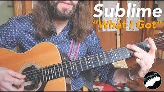 "Sublime ""What I Got"" - Super Easy Beginner Guitar Lesson w/ solo!"