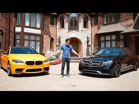 Ultimate Sedan Battle! | F10 BMW M5 vs Mercedes E63 AMG S