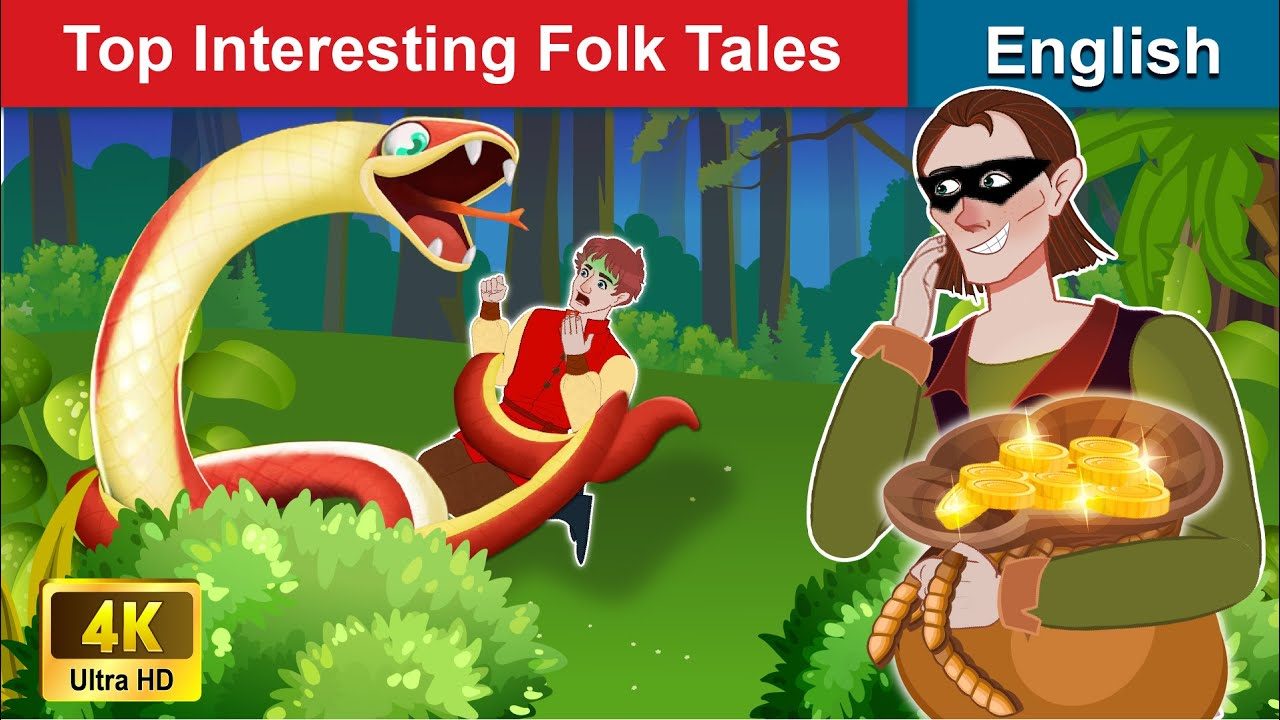 Top Interesting Folk Tales 🐍 Bedtime stories 🌛 Fairy Tales For Teenagers | WOA Fairy Tales