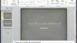 Le mode protégé dans PowerPoint 2010
