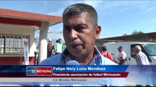 Morelia, Mich.- Torneo nacional de futbol veteranos. Participan 10 equipos de diferentes edos.