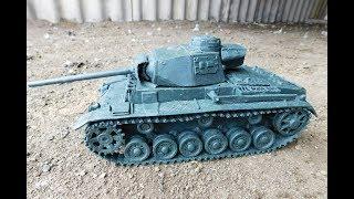 танк Pz.Kpfw. III Ausf. J Selbstfahrlafette 8.8 и небольшой видео урок
