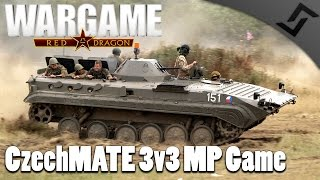 CzechMATE 3v3 MP Game - Wargame: Red Dragon RedFor PvP Gameplay