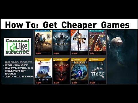 How to: Get cheaper online game codes & keys for Steam, Origin and Consoles [Tutorial]