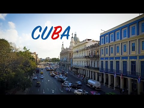 Cuba by Air - Aerial Drone Travel Blog of this Caribbean communist island