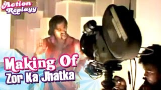 Zor Ka Jhatka Song Ft Aishwarya, Akshay | Action Replayy Making