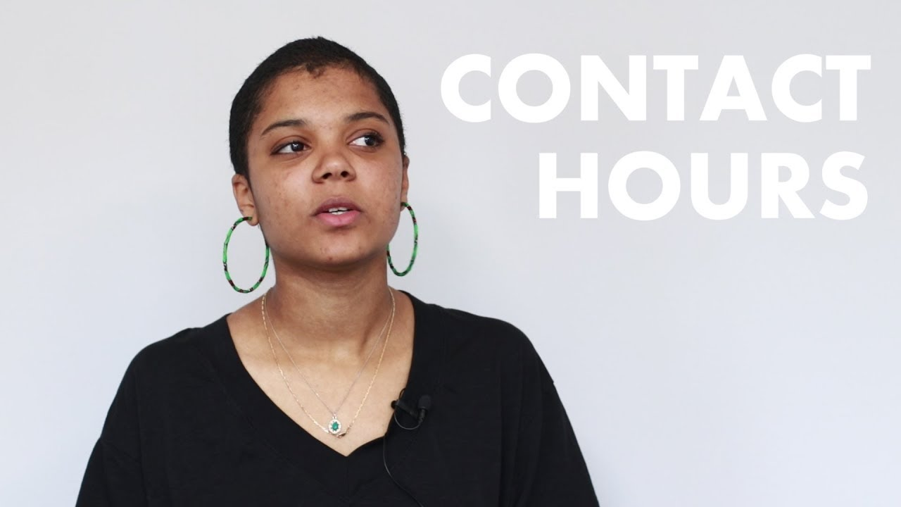 How many contact hours will I have?