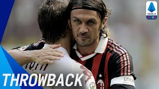 The Legend Paolo Maldini   Throwback   Serie A TIM