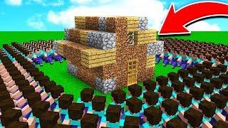 500 FANS vs WORLD'S WORST HOUSE!