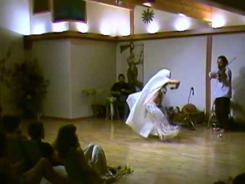 Delilah's Full Belly Dance Routine; 1997; with Live Music Sirroco