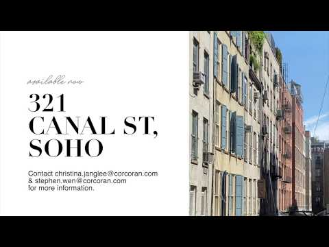 BEAUTIFUL SOHO APT TOUR | fully renovated 2 bedroom nyc apt with large windows & private terrace