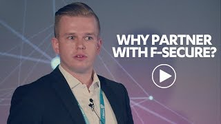 Why partner with F-Secure? - Tosch Security BV