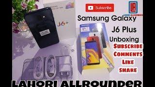 Samsung Galaxy J6 Plus Unboxing