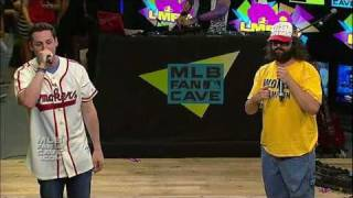 LMFAO Party Rocks the MLB Fan Cave