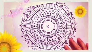 mandala simple easy drawing draw beginners super drawings paintingvalley getdrawings