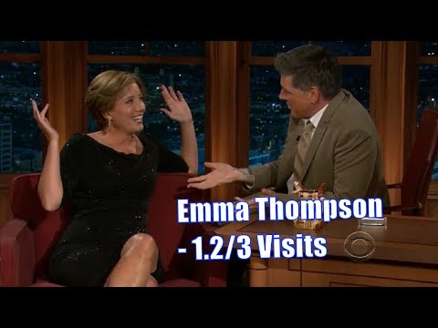 Emma Thompson  These Two Have Alot Of History  1.23 Visits In Chronological Order