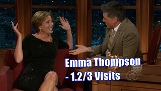 Emma Thompson - These Two Have Alot Of History - 1.2/3 Visits In Chronological Order