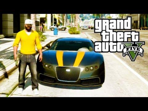 "GTA 5 Secret Cars - ""Adder"" (Bugatti Veyron) (GTA V)"