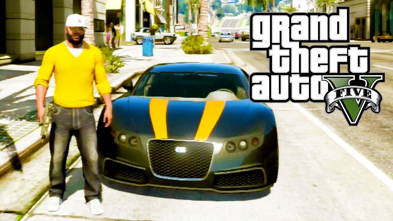 """""""Adder"""" (Bugatti Veyron) (GTA V)"""