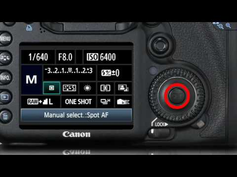 canon eos 7d manually selecting an af point 2 16 youtube rh youtube com canon 7d manual book canon 7d manual pdf