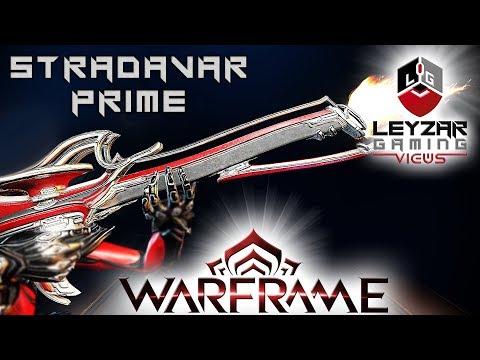 Stradavar Prime Build 2019 (Guide) - The Slashing Symphony (Warframe Gameplay) thumbnail
