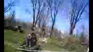 Backyard Mini Bike Jump