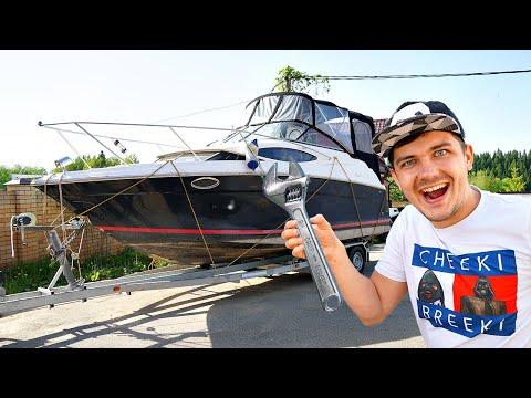 Чиним корабль миллионера, чтобы отправиться в жуткий поход!
