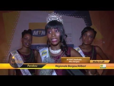Interview Miss Borgou 2016