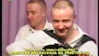 Braca Savic Blizanci i Aca Cirkovic sviraju na televiziji Duga