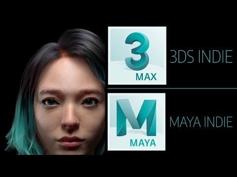 3DS MAX & Maya Indie -- $250/year With Some Gotchas*