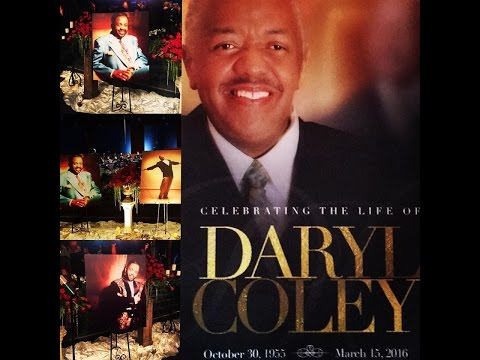 Daryl Coley Home Going Celebration