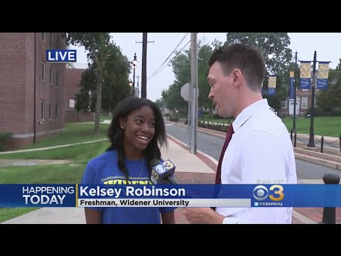 It's Move-In Day At Widener University