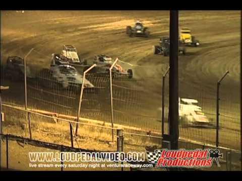 Victorville Raceway Park 6-11-11 Open Sprint Cars