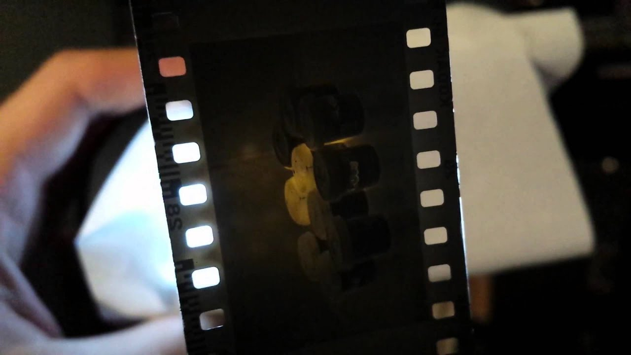 My First Caffenol C Developed 35mm Photo Film Youtube