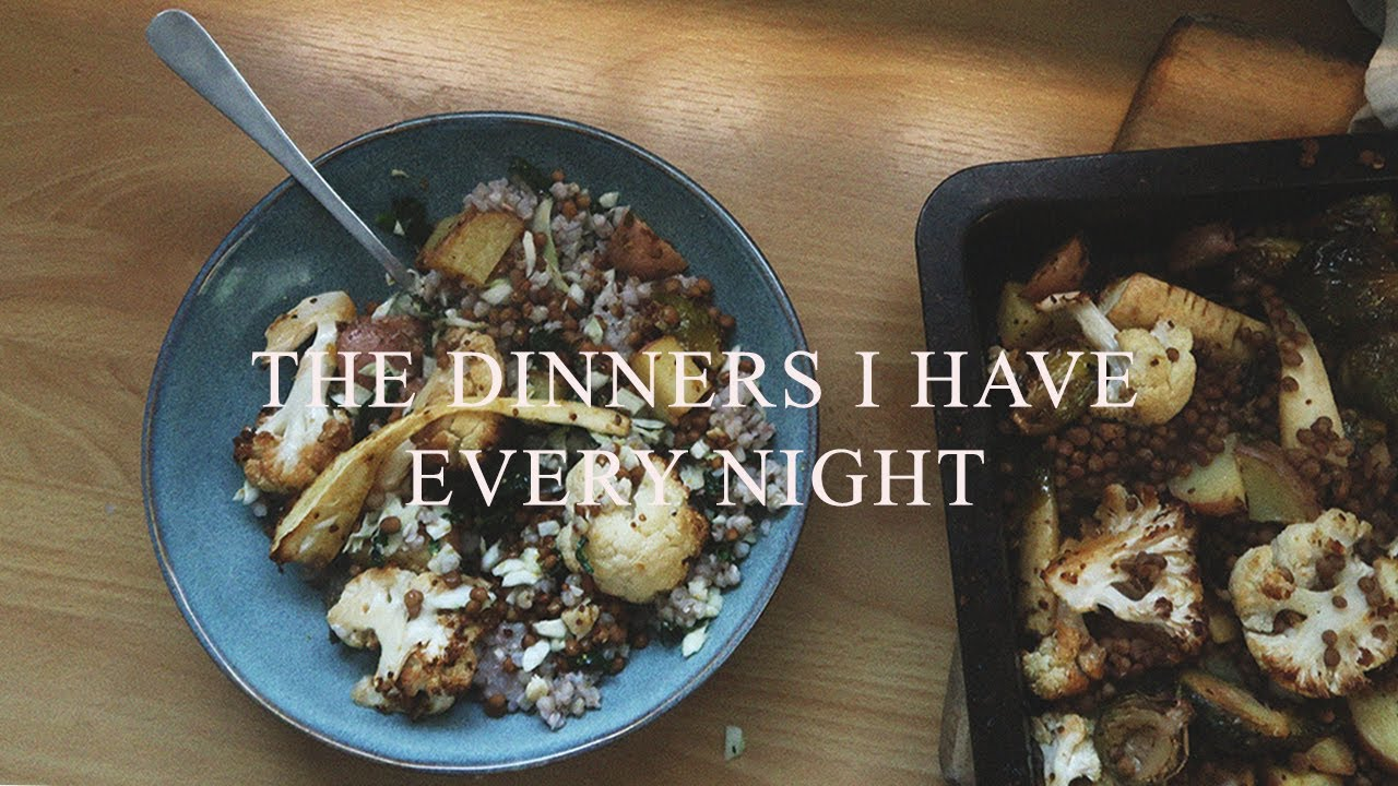 Dinners I've Had Every Night for the Past Month lol