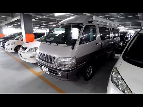 1998 Toyota Hiace 3 0L Turbo Diesel 4WD Camper at Japan (JDM) Car Auction