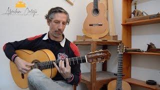 Daniel Arias con guitarra de Abraham Ortega Luthier 2/3