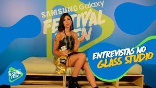 Baixar FOQUINHA ENTREVISTA NO GLASS STUDIO DA SAMSUNG   Festival Teen