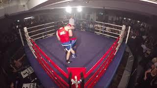 Ultra White Collar Boxing | Glasgow | Liam Carlin VS Lawson