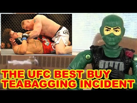 The Best Buy UFC Teabagging Incident