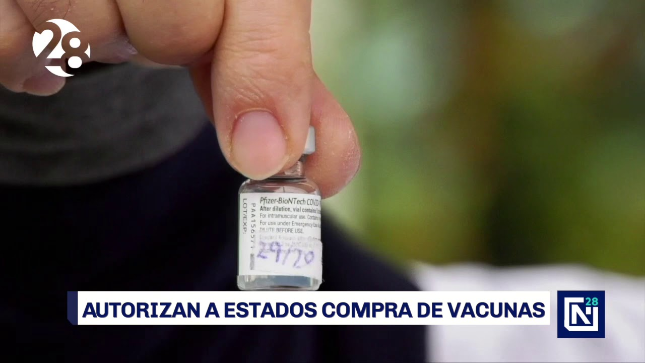 Autoriza AMLO a Estados compra de vacunas