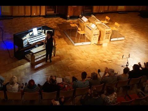 Glass & Reich Orgelpark 1 Oct. 2016, Una Cintina, Gerben Gritter, Matthias Havinga, Klaas Koelewijn